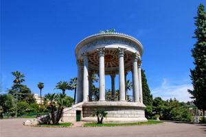 Parc chambrun Nice : Temple de l'Amour - Parc chambrun à Nice