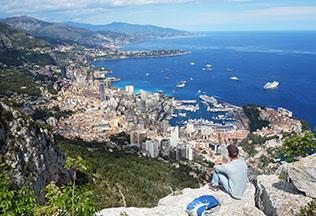 Guide privé Nice : Vue panoramique sur Monaco