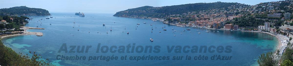 Location de tourisme à Nice : Villefranche sur mer