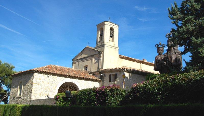 St jean cap ferrat : chapelle