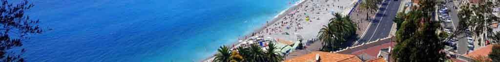 Tourisme côte d'Azur : Nice - baie des anges