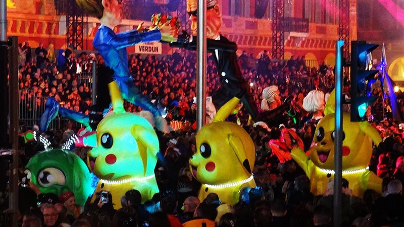 Carnaval de Nice : 137e édition / thème :  le roi de la mode (2020)