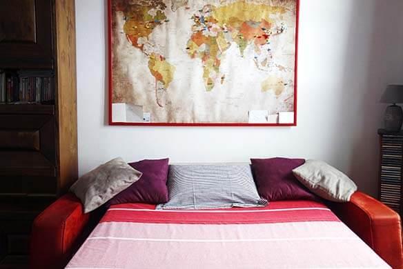 Hébergement Nice : chambre partagée