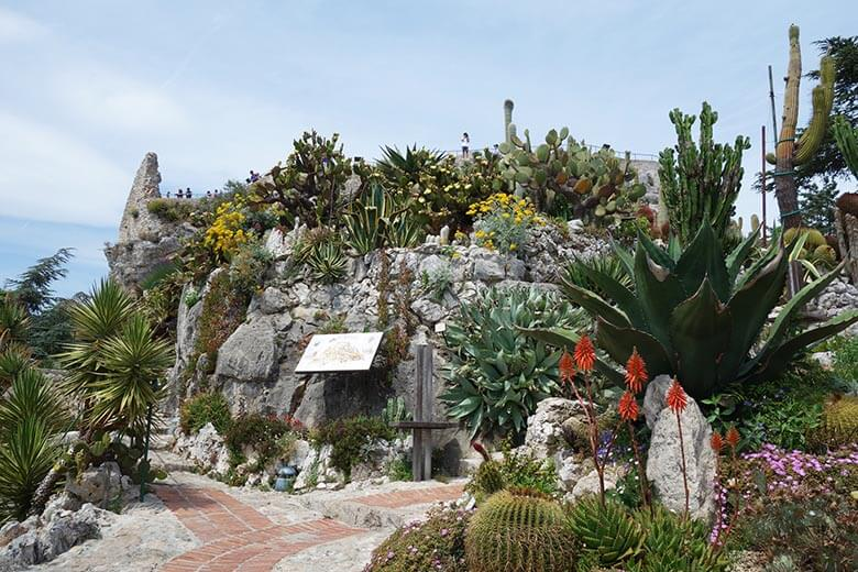 jardin exotique et méditerranéen de Eze-sur-mer