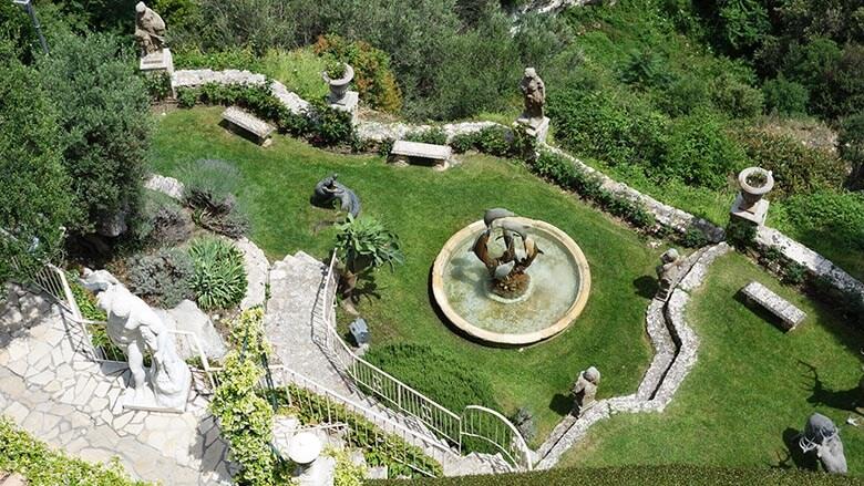 Visite Eze : Jardin privé à Eze
