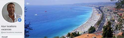 Azur locations vacances sur Facebook
