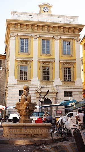 Place Saint François à Nice