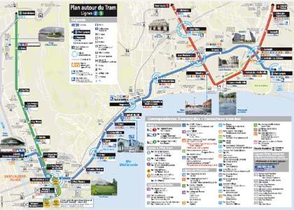 Tramway & Bus à Nice