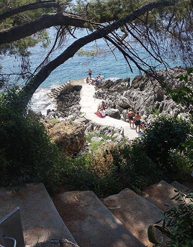 Circuits touristiques Roquebrune : sentier littoral
