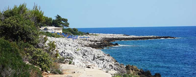 Circuits touristiques Roquebrune : fin de sentier