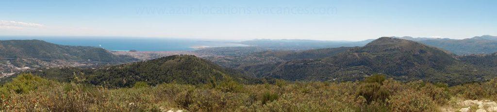 Vue du Mont Macaron proche d'Aspremont